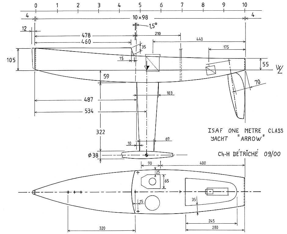 Arrow Or Classroom Design Definition ~ Demo rc sail boat plans