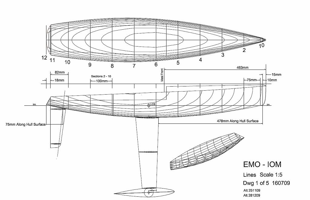 Demo-RC Sail Boat Plans