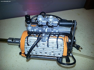 FLYER - marine  Ford flathead V8 engine 140.jpg