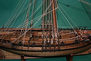 SHIPMODELL: Naval Cutter 1777 (Alert)
