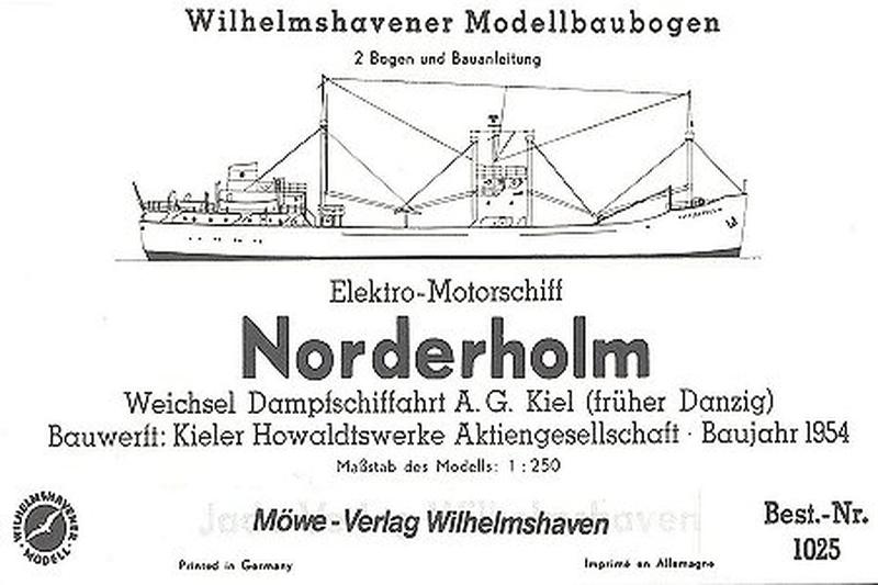 Elektro 2000 Wilhelmshaven free plans paper power civil ships