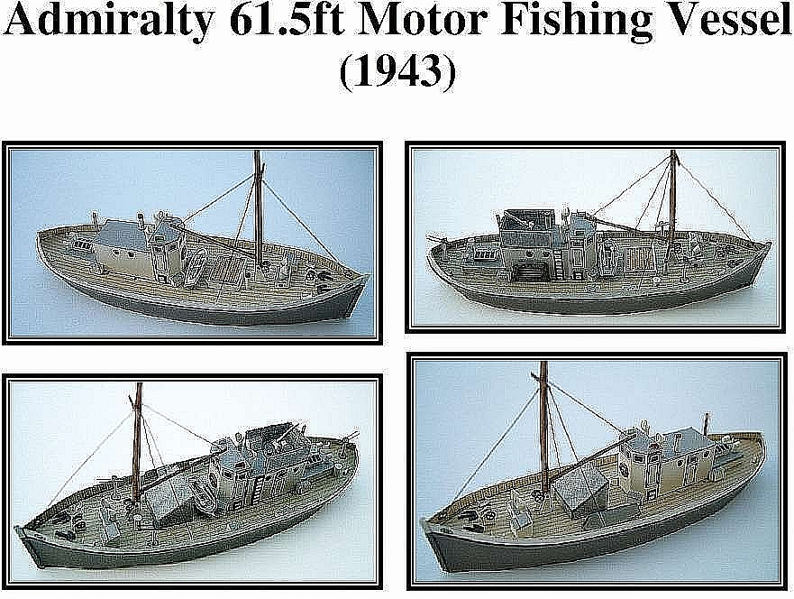 Plan Fishingboat Admiralty 61 1943
