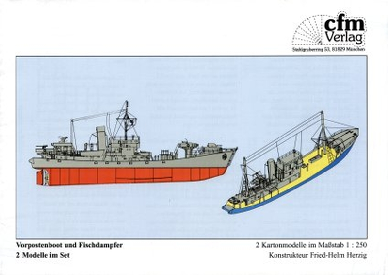Plan Fishingboat and Postboat - CFM