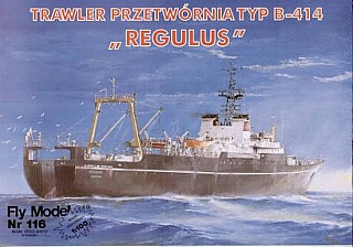 Plan Fishing Trawler Regulus - FLYM