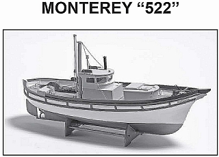Plan Fishingboat Monterey