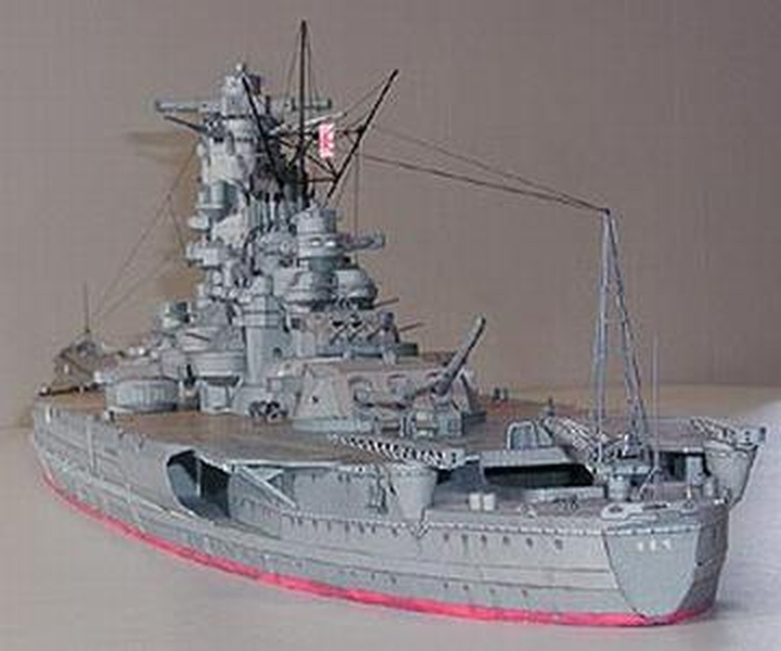 Free Plans: Paper-Power WarShips 1