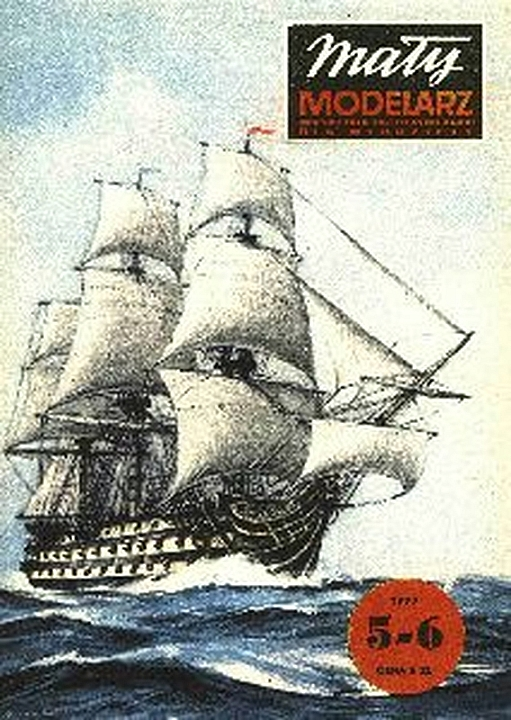Plan Frigate HMS Victory - MALY