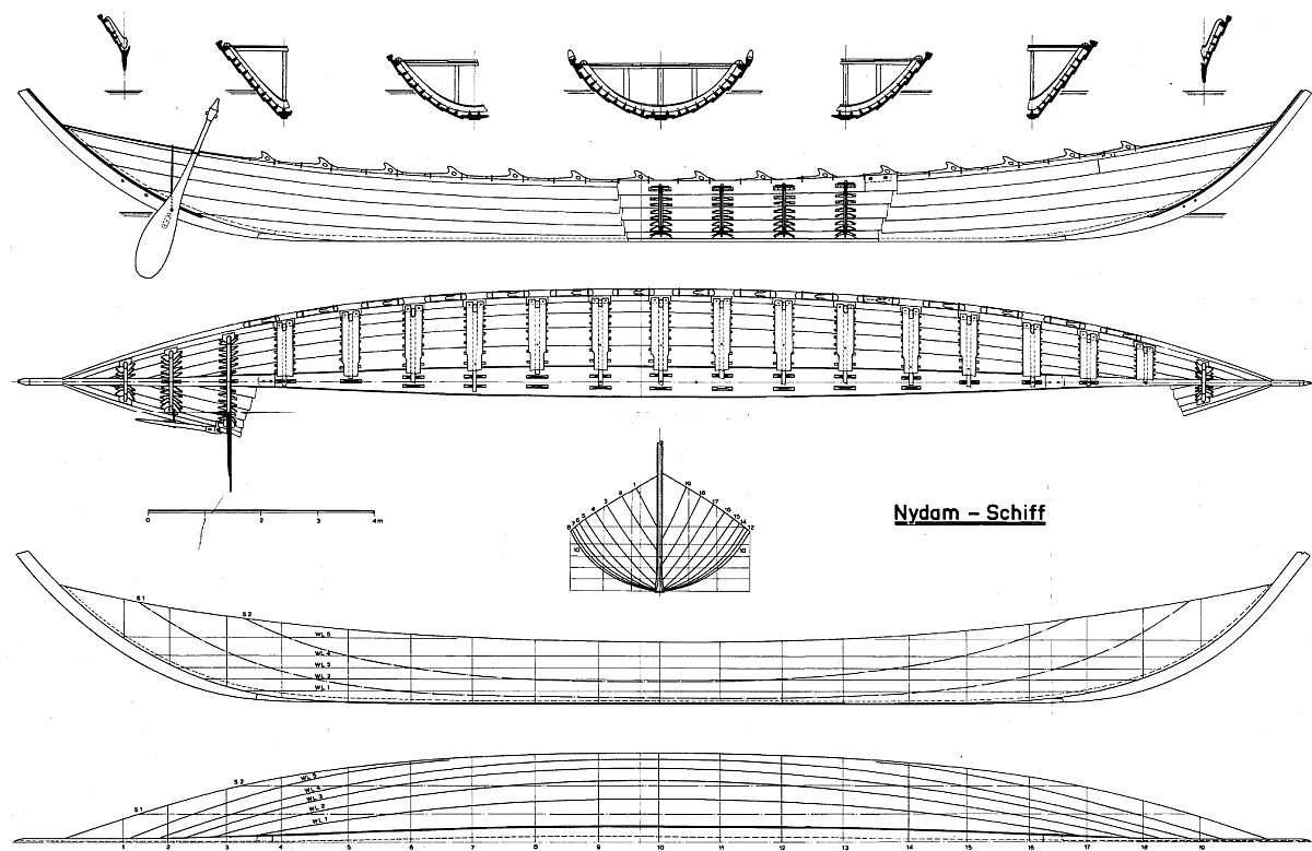 plan Viking boat (Nydam) IVc viking pop up wiring diagram gandul 45 77 79 119  at crackthecode.co