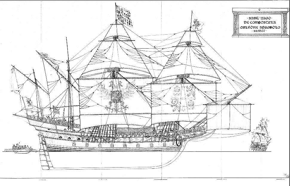 Galleon Ship Diagram - Product Wiring Diagrams •