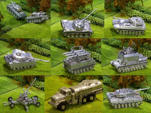 The Aluminium Army collection ( vehicles)