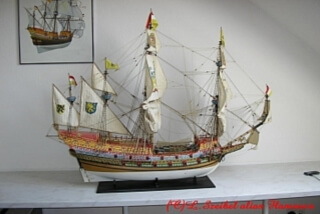 Flemish galleon - ship model