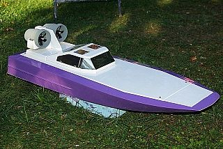 RC Hibrid Speedboat
