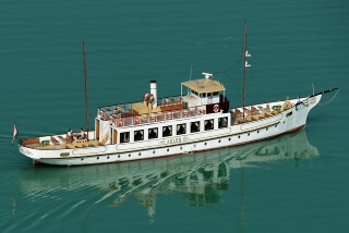 KELÉN Steamer of lake Balaton