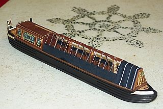 English Narrowboat model (late XIX.century)