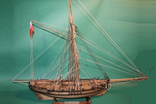 NAVAL CUTTER 1777 - ship model