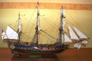 PEREGRINE GALLEY - ship model