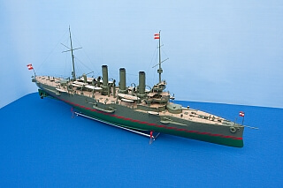 Austro-Hungarian protected cruiser of the SMS KAISER KARL VI class