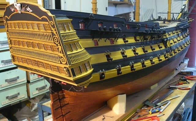 Shipmodell Hms Pandora