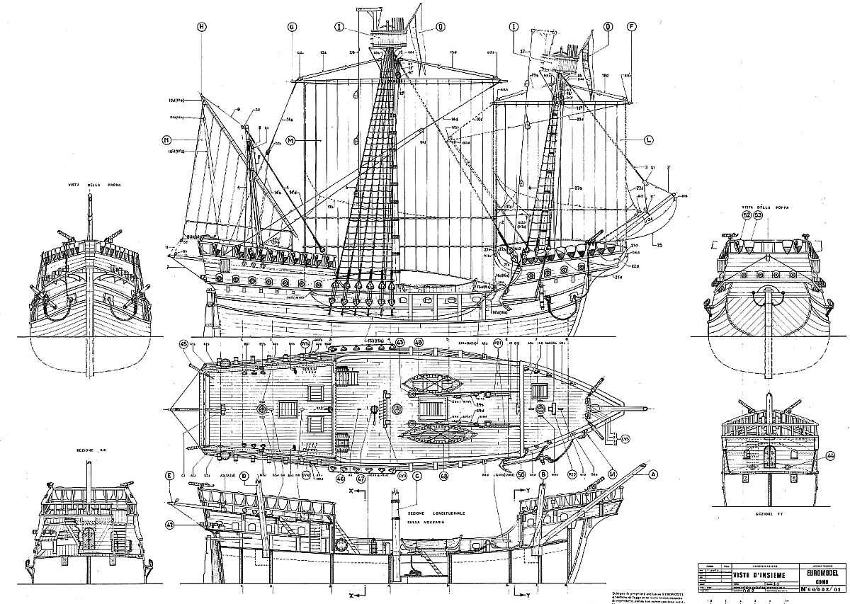 картинки кораблей или чертежи комментариям самого дизайнера